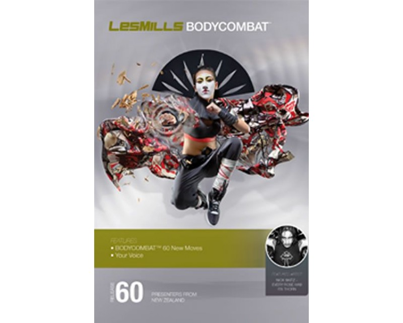 BODY COMBAT 60 HD DVD + CD + waveform graph