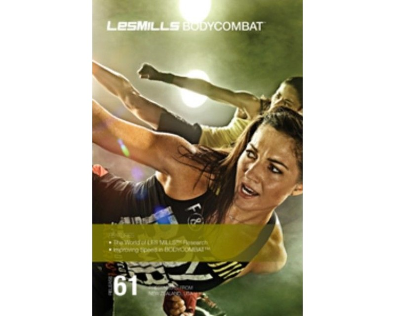 BODY COMBAT 61 HD DVD + CD + waveform graph