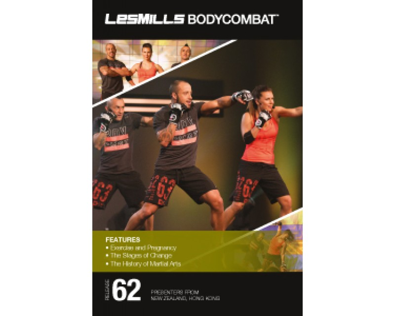 BODY COMBAT 62 HD DVD + CD + waveform graph
