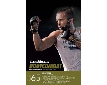 BODY COMBAT 65 HD DVD + CD + waveform graph