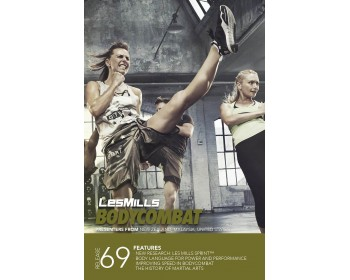 BODY COMBAT 69 HD DVD + CD + waveform graph