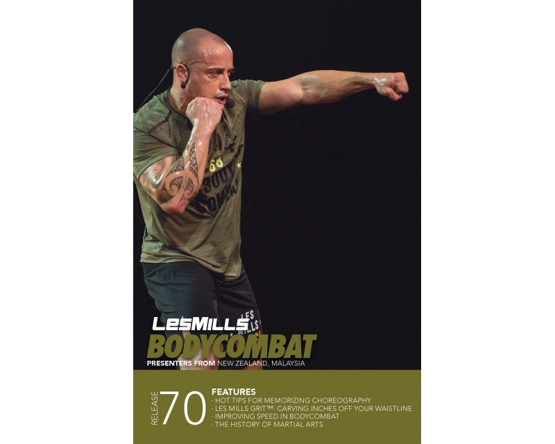 BODY COMBAT 70 HD DVD + CD + waveform graph