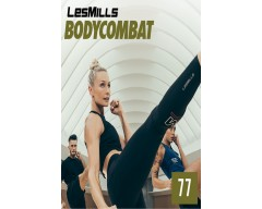 [Hot Sale]2018 Q3 Routines BODY COMBAT 77 DVD + CD + waveform graph