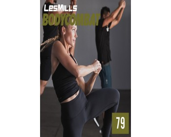 [Hot Sale]2019 Q1 Routines BODY COMBAT 79 DVD + CD + waveform graph