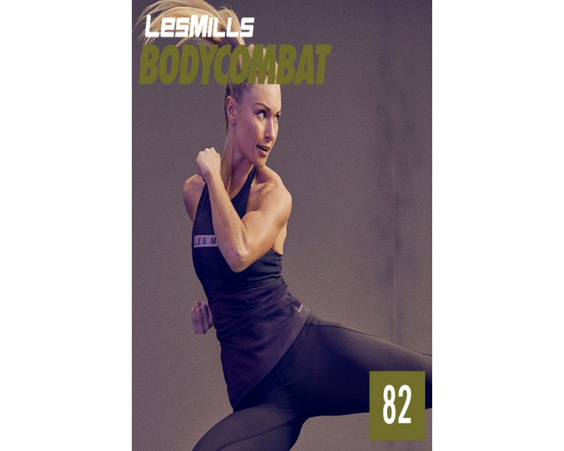 [Hot Sale]Les Mills BODY COMBAT 82 New Release BC82 DVD, CD & Notes