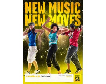 BODY JAM 54 HD DVD + CD + waveform graph