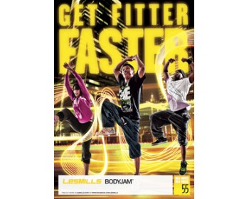 BODY JAM 55 HD DVD + CD + waveform graph