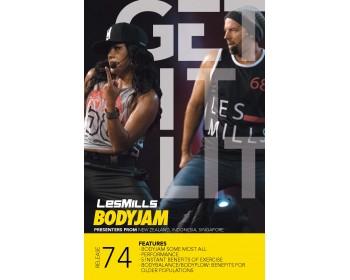 BODY JAM 74 HD DVD + CD + waveform graph