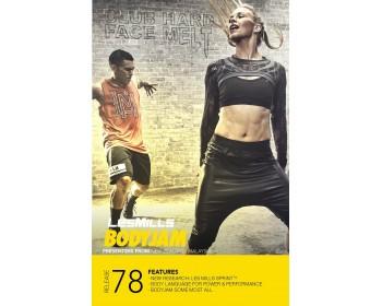 BODY JAM 78 HD DVD + CD + waveform graph