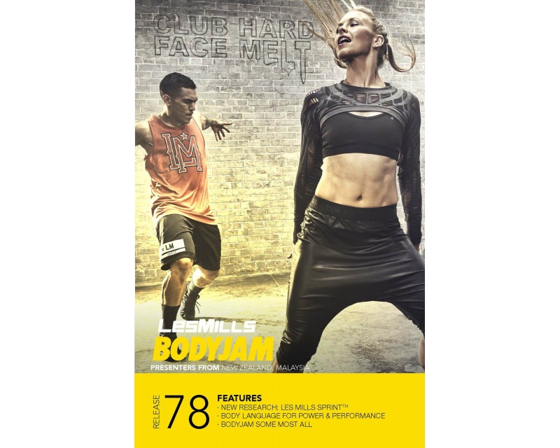 BODY JAM 78 HD DVD + CD + waveform graph