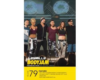 BODY JAM 79 HD DVD + CD + waveform graph