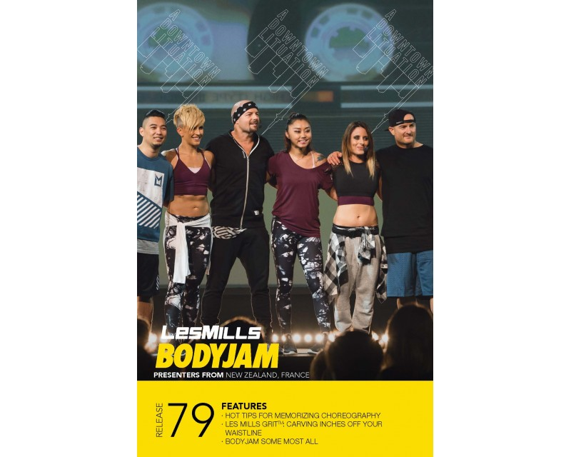 BODY JAM 79 HD DVD + CD + waveform graph