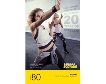 BODY JAM 80 HD DVD + CD + waveform graph