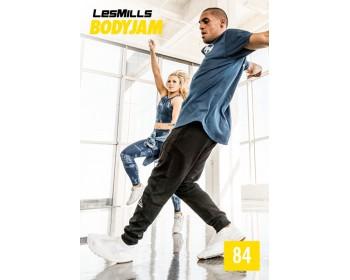 2018 Q1 Routines BODY JAM 84 HD DVD+CD+NOTES
