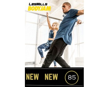 2018 Q2 Routines BODY JAM 85 HD DVD+CD+NOTES