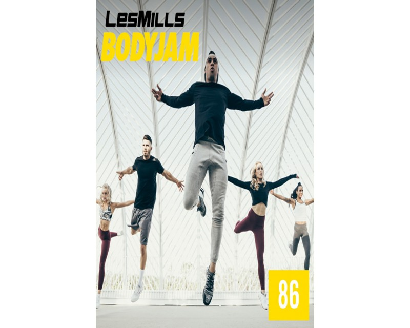 [Hot Sale]2018 Q3 Routines BODY JAM 86 HD DVD+CD+NOTES