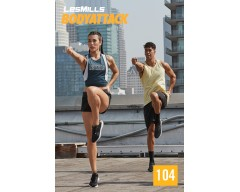 2019 Q1 Routines BODY ATTACK 104 HD DVD + CD + waveform graph