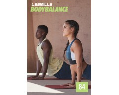 LesMills Routines BODY BALANCE 84 Release BODY FLOW 84 DVD, CD & Notes