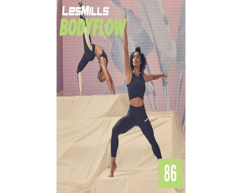 LesMills Routines BODY BALANCE 86 Release BODY FLOW 86 DVD, CD & Notes