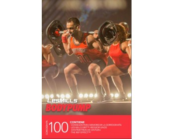 BODY PUMP 100 HD DVD + CD + waveform graph