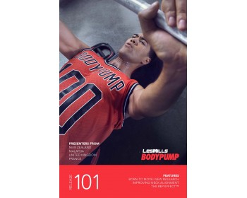 BODY PUMP 101 HD DVD + CD + waveform graph