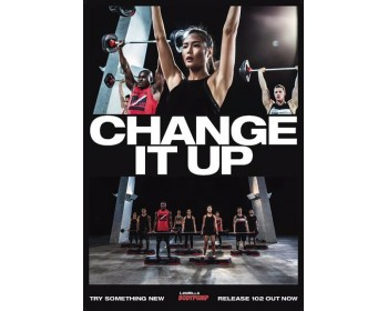 BODY PUMP 102 HD DVD + CD + waveform graph