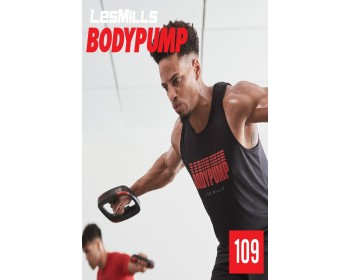 [Hot Sale]2019 Q1 Routines LesMills BODY PUMP 109 HD DVD + CD + waveform graph