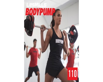 [Hot Sale]2019 Q2 LesMills Routines BODY PUMP 110 DVD + CD + waveform graph