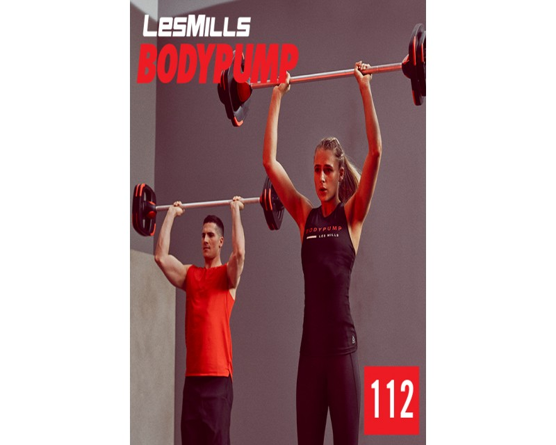[Hot Sale]LesMills Routines BODY PUMP 112 New Release BP112 DVD, CD & Notes