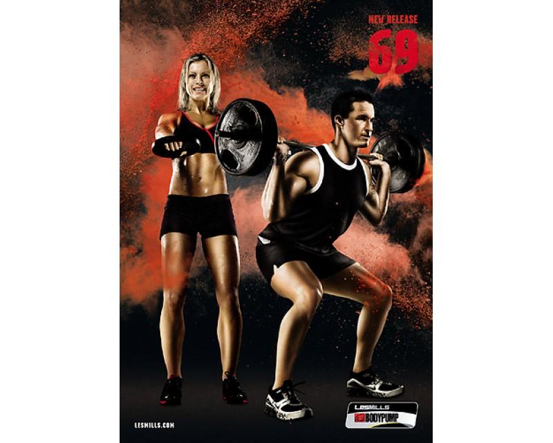 BODY PUMP 69 HD DVD + CD