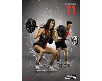 BODY PUMP 71 HD DVD + CD
