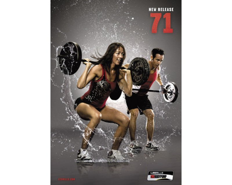 BODY PUMP 71 HD DVD + CD