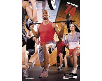 BODY PUMP 74 HD DVD + CD + waveform graph