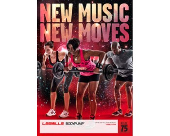 BODY PUMP 75 HD DVD + CD + waveform graph