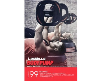 BODY PUMP 99 HD DVD + CD + waveform graph