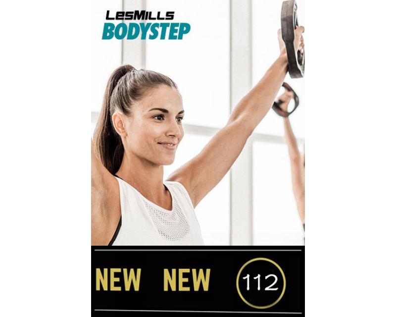 2018 Q2 Routines BODY STEP 112 HD DVD + CD + waveform graph