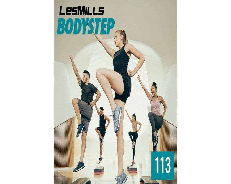 [Hot Sale]2018 Q3 Routines BODY STEP 113 HD DVD + CD + waveform graph
