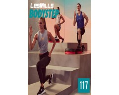 [Hot Sale]2019 Q3 LesMills Routines BODY STEP 117 DVD + CD + NOTES