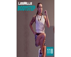 [Hot Sale]LesMills Routines BODY STEP 118 New Release BS118 DVD, CD & Notes