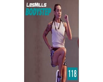 [Hot Sale]2019 Q4 LesMills Routines BODY STEP 118 DVD + CD + waveform graph