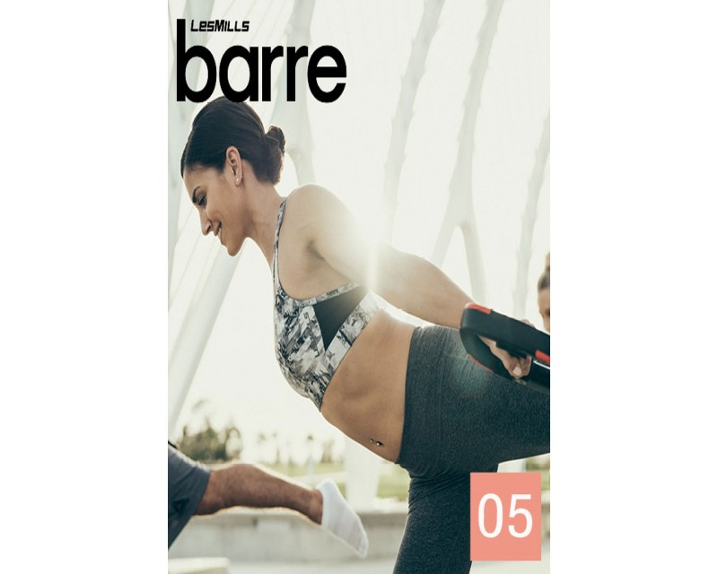 [Hot sale] LesMills Barre 05 DVD + CD + waveform graph