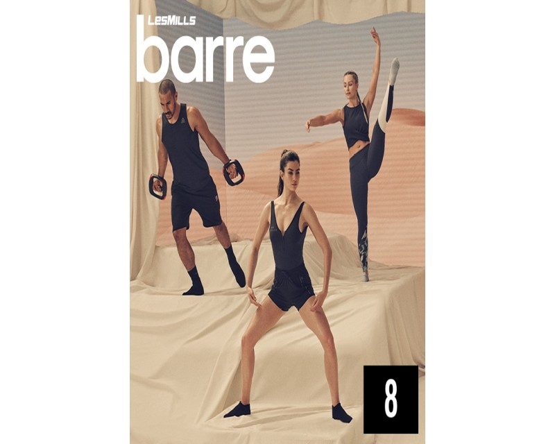 [Hot sale] LesMills Barre 08 DVD + CD + waveform graph