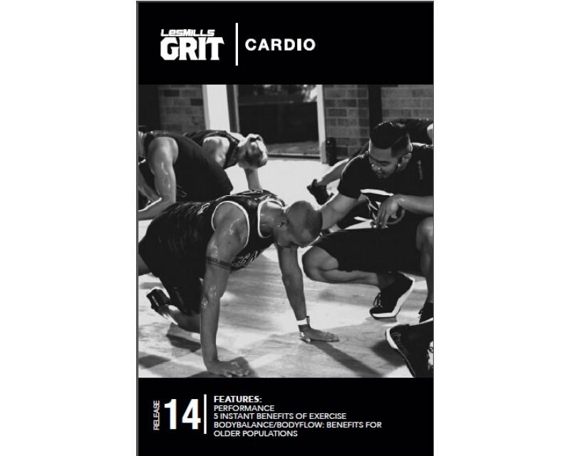 GRIT Cardio 14 DVD+CD + waveform graph
