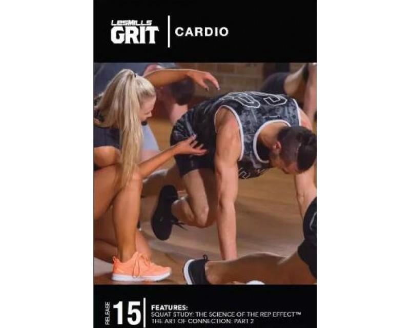 GRIT Cardio 15 DVD+CD + waveform graph