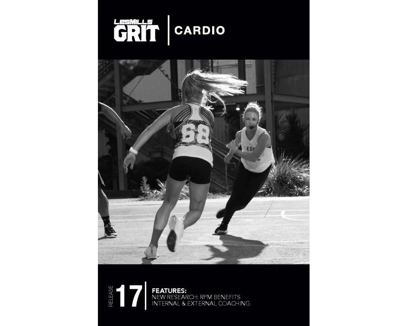 GRIT Cardio 17 DVD+CD + waveform graph