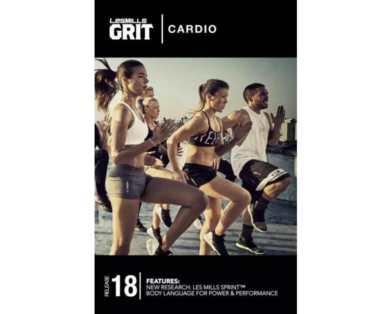 GRIT Cardio 18 DVD+CD + waveform graph