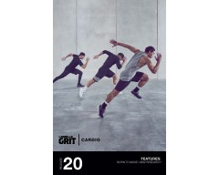 GRIT Cardio 20 DVD+CD + waveform graph