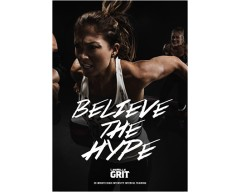 GRIT Cardio 21 DVD+CD + waveform graph