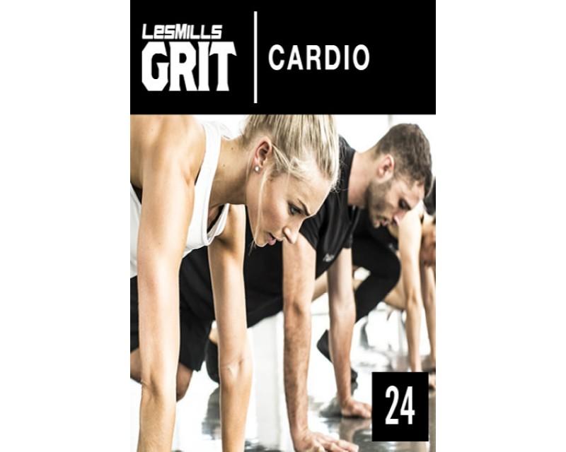 2018 Q1 Routines GRIT Cardio 24 DVD+CD + waveform graph