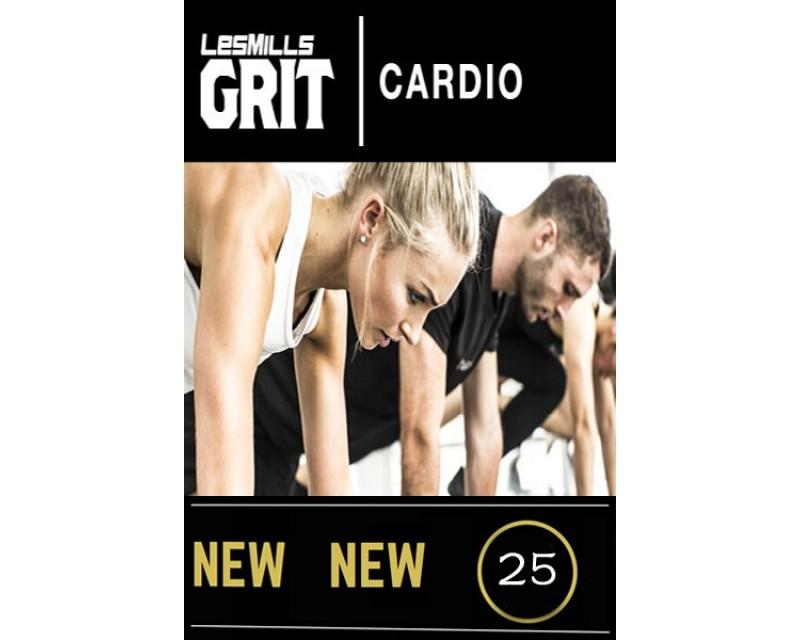 2018 Q2 Routines GRIT Cardio 25 DVD+CD + waveform graph